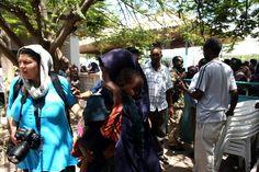 Alet Pretorius in MOGADISHU, SOMALI 2011.  Picture:  Simphiwe Nkwali (Sunday Times) Somali, Behind The Scenes, Sunday, Times, Pictures, Fashion, Photos, Moda, Domingo