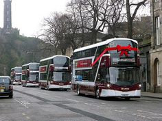 Lothian Buses new service 22 buses launch