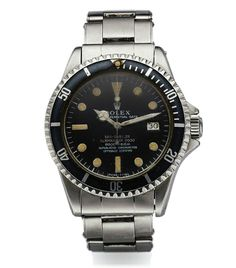 """PHILIPPE COUSTEAU'S (SON OF JACQUES COUSTEAU) SEA-DWELLER ROLEX REF. 1665 EARLY PATENT PENDING WITH DOUBLE RED MARK I DIAL STEEL Rolex, """"Oyster Perpetual Date, Sea-Dweller"""