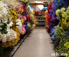 April showers bring May flowers, and we're ready with all of your summer floral needs! With any type of flower in any color you can imagine, we offer a vast array of options so you can make an arrangement that matches the look and feel of your home. May Flowers, April Showers, At Home Store, Household Tips, Landscaping, Table Decorations, Type, Floral, Summer