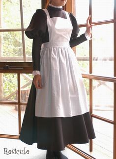 Maid Outfit Cosplay, Cosplay Costumes, Girls Fashion Clothes, Fashion Outfits, Victorian Maid, French Maid Dress, Maid Uniform, Fantasy Gowns, Period Outfit