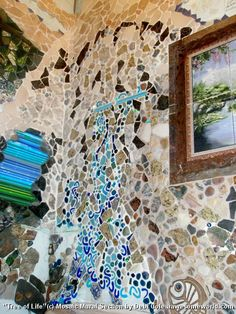 ''Tree Of Life'' ~ 4 walls 6'x6'x10'Tall ~ main floor showered bathroom  adjacent Windwalker Grotto room & Vortex Lounge ~ Kitchen - Glacier