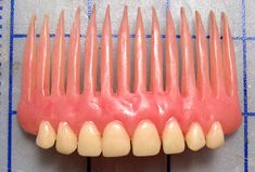 Denture Hair Comb (single comb)