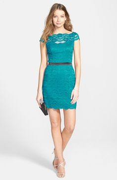 Hailey Logan Lace Sheath Dress (Juniors) available at #Nordstrom
