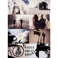Be Brave, Tris ❤ liked on Polyvore featuring divergent