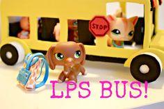How to make an LPS Bus | Littlest Pet Shop crafts