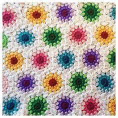 Ravelry: ANerdyCrocheter's Crochet starburst hexagon