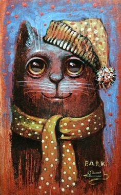 Иллюстрация кот Прошка. Просмотреть иллюстрацию кот Прошка из сообщества русскоязычных художников автора Павел Кульша в стилях: Персонажи, нарисованная техниками: Акрил.
