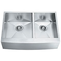 The left bowl is big enough!!! http://www.overstock.com/Home-Garden/VIGO-36-inch-Farmhouse-Stainless-Steel-16-Gauge-Double-Bowl-Kitchen-Sink/3196599/product.html?CID=214117 $508.32