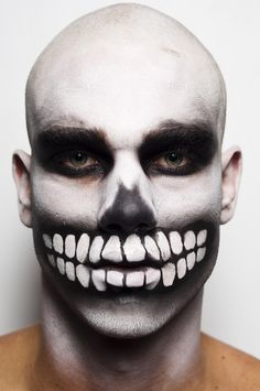 men's makeup CREEPY #makeup #luceladies @Nicholas Luce
