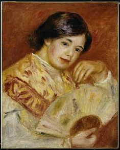 Pierre-Auguste Renoir - Coco with a Japanese Fan, c.1906