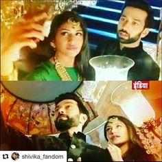 #Repost @shivika_fandom with @repostapp ・・・ Shivika selfiee #shivika #shivaayanika #ishqbaaaz