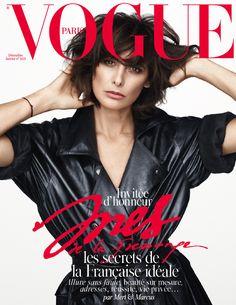Ines de la Fressange invitée d'honneur du numéro de Noël 2014 de Vogue Paris http://www.vogue.fr/mode/news-mode/diaporama/ines-de-la-fressange-invitee-d-honneur-du-numero-de-noel-2014-de-vogue-paris/21264