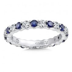 Eternity Band (Size 6.5) in 14K White Gold (0.75ct. tw.)# CR751BW-6.5