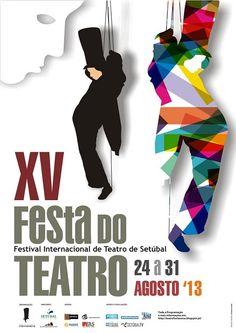 Teatro │ Festa do Teatro │ 24 a 31 de Agosto │ Setúbal