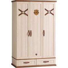 Royal Sturdy 3 Door Wardrobe Childrens Wardrobes, Storage Solutions, Tall Cabinet Storage, Furniture, Design, Home Decor, Kids, Amor, Young Children