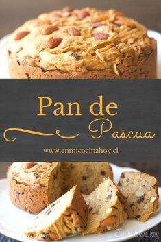 Pan de Pascua Chilean Recipes, Chilean Food, Pan Bread, Cute Cakes, Food Menu, Mexican Food Recipes, Sweet Tooth, Bakery, Sweet Treats