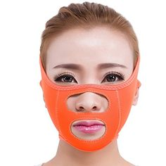 Surker Facial Care Face Slimming Chin Cheek Mask Lift V Face Line Belt Strap Face Slim Mask ** Want additional info? Click on the image.