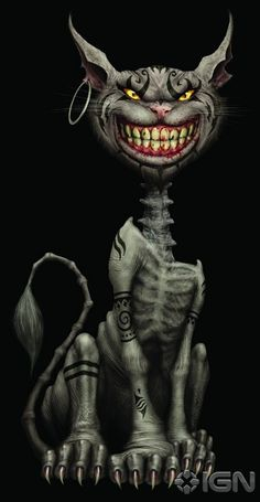 American McGee's Cheshire Cat. I have been looking everywhere for this cat!