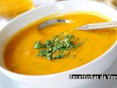 Receita Sopa emagrecedora