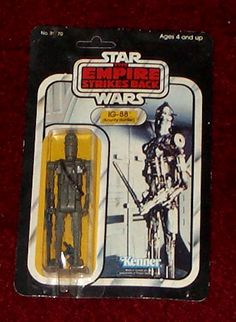 Kenner Empire Strikes Back Action Figure - Bounty Hunter Awesome Toys, Cool Toys, Ig 88, Starwars Toys, Young Lad, Star Wars Models, Star Wars Merchandise, Collectible Toys, Lego Toys
