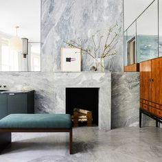 modern bathroom Bathroom Interior Design, Modern Interior Design, Modern Luxury Bathroom, Luxury Bathrooms, Modern Bathrooms, New York Townhouse, Mug Design, New York Homes, Inspiration Design