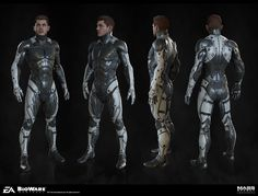 Mass Effect Andromeda - Art Dump