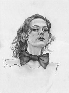 Sarah by Jenny Mörtsell Draws, via Flickr