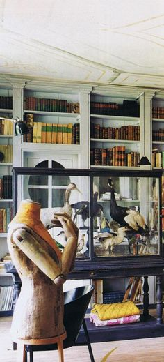 Antiquarian Alain Fassier  remarkable home and antique shop