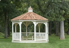 Vinyl Gazebo - We delivery fully assembled gazebos throughout eastern Ontario and Quebec. Visit us online for fully price list ncsshelters.com