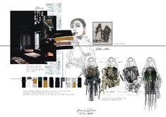 Mode Portfolio Layout, Mise En Page Portfolio Mode, Fashion Portfolio Layout, Fashion Design Sketchbook, Portfolio Book, Fashion Illustration Sketches, Portfolio Design, Sketchbook Layout, Csm Sketchbook