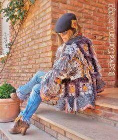 Coat Of Many Colors, Single Crochet Stitch, Boho, Hippie Style, Crochet Stitches, Ibiza, Gypsy, Cute, Instagram