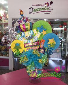 Hermosa copa, para celebrar un año mas  #cumpleaños #regalos #amistad #amor #globos #peluches #golosinas #dencantos #cagua #venezuela