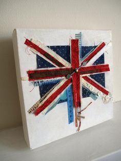 A craft take on the Union Jack