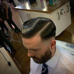 Bald fade hard part for the brilliant Scott. Finished with all the nines, @layriteofficial Supershine. #barbers #oldschoolbarbers #fridaybarbergang #barbersinctv #britishmasterbarbers #showcasebarbers #menshairs #barbershopconnect #thebarberpost #barberloveuk #internationalbarbers #truebarberproducts #modernbarbermag #layrite #traditionalbarbers #truebarberproducts #hairmenstyle