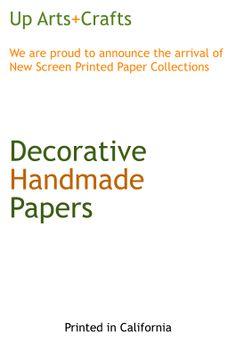 Nice and elegant Screen printed Lokta Papers