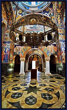 The church of St. George - Oplenac, Serbia by Katarina 2353, via Flickr.....absolutely amazing