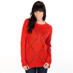Cozy holiday sweater. | from Von Maur #VonMaur #HolidaySweater #Cozy #Winter