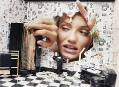 David LaChapelle   Cameron Diaz   Dollhouse Disaster   Home Invasion