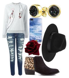 """""""I Can &a I Will"""" by the-wonderful-wizard on Polyvore featuring Current/Elliott, Giamba, Bling Jewelry and Lack of Color"""