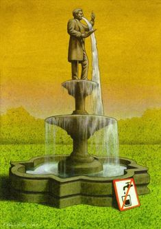 Dibujando sátira, ilustraciones de Pawel Kuczynski