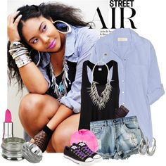 Street Air!, created by istyle on Polyvore