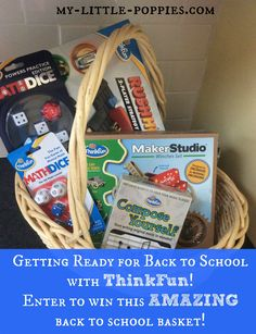 Getting Ready for Back to School with ThinkFun - GIVEAWAY!