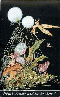 Fantasy Art | Fae Illustration | Fairies | Fairytale Picture | Elven | Mythological | Legends | Mythology