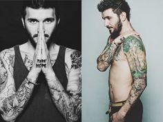 Beard & Tattoos by Ionut Cojocaru - Beard Tattoo, Tattoos, Irezumi, Tattoo, Tattoo Illustration, A Tattoo, Tatto, Time Tattoos