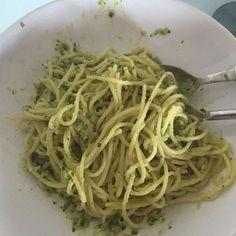 A B C vos IG: Spaghettis à la crème d'avocat (IG bas)