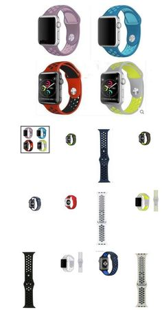 Flexible breathable sports Band Strap for Apple Watch  #iwatch #apple #applefans #applewatch