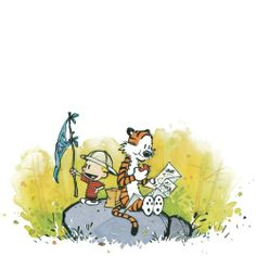 Thoughts on writing Calvin And Hobbes Comics, Calvin And Hobbes Quotes, Comics Und Cartoons, Spiegel Online, Stop Motion, Cute Illustration, Projects For Kids, Life Lessons, Winnie The Pooh