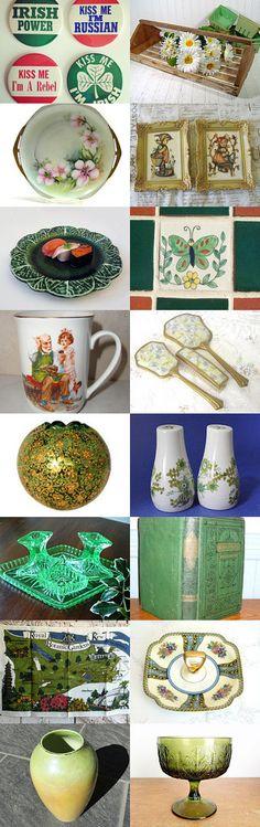 Everyone Loves Saint Patrick by Deja Vu Home Interiors on Etsy--Pinned with TreasuryPin.com