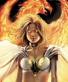 """""""Emma briefly became the host for Phoenix. However, she was not truly able to contain the Phoenix due to not having Omega-level power in X-Men: Phoenix - Endsong. She does not consider herself a true avatar like Jean but rather a substitute for the wounded entity."""""""